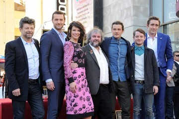 Orlando Bloom Peter Jackson Honored on the Walk of Fame