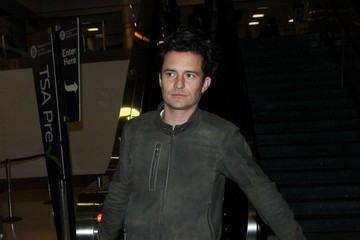 Orlando Bloom Orlando Bloom at LAX