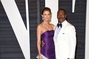 Paige Butcher Stars at the Vanity Fair Oscar Party