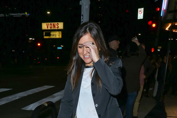 Pamela Adlon Celebrities Are Seen Outside the Vista Theatre
