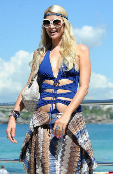 Paris+Hilton in Paris Hilton on Bondi Beach 5