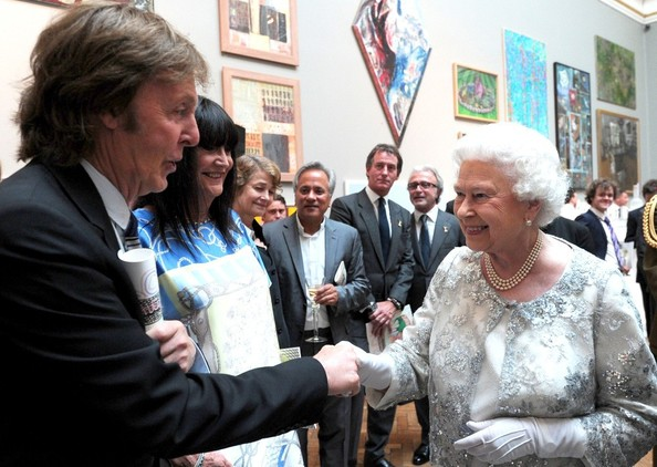 Paul McCartney - The Queen Visits the Royal Academy of Arts