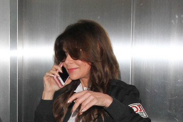 Paula Abdul Paula Abdul Is Seen at LAX