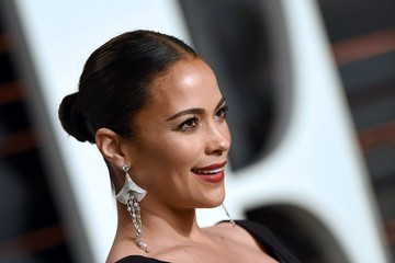 Paula Patton Stars at the Vanity Fair Oscar Party