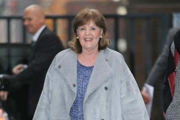 Pauline Collins Pauline Collins at the London Studios