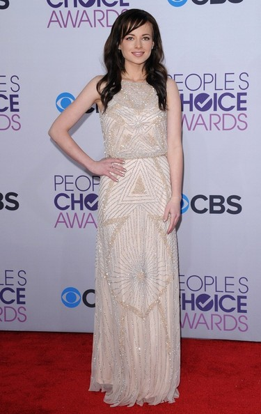 People's Choice Awards 2013..Nokia Theatre L.A. Live, Los Angeles, CA..January 9, 2013..Job: 130109A1..(Photo by Axelle Woussen)..Pictured: Ashley Rickards.