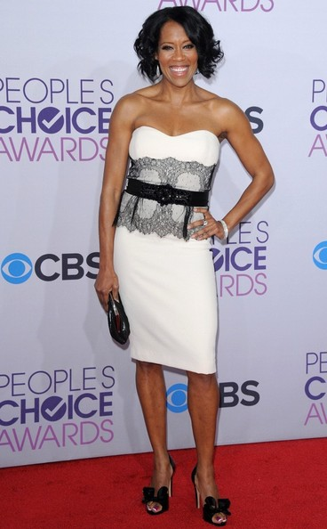 People's Choice Awards 2013..Nokia Theatre L.A. Live, Los Angeles, CA..January 9, 2013..Job: 130109A1..(Photo by Axelle Woussen)..Pictured: Regina King.