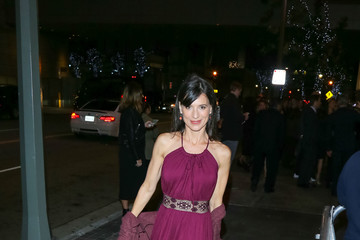 Perrey Reeves Celebrities Outside the 'Sleepless' Premiere