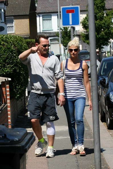 Perry Fenwick and Danielle Harold Out in Elstree []