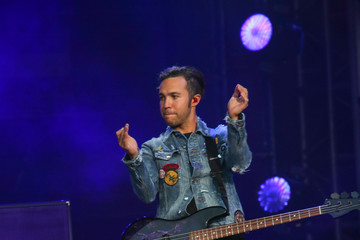 Pete Wentz 'Fall Out Boy' Performs at 'Jimmy Kimmel Live'