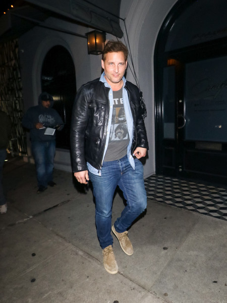 Peter Facinelli Outside Craig's Restaurant In West Hollywood