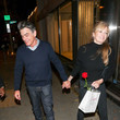 Peter Gallagher Peter Gallagher Outside Craig's Restaurant In West Hollywood