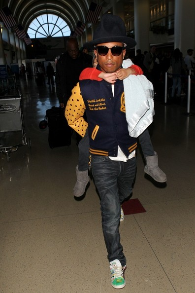 Pharrell Williams Pictures - Pharrell Williams and His Son ...