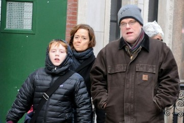 Philip Seymour Hoffman Philip Seymour Hoffman Out with His Family