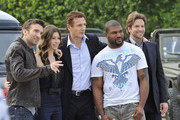 Photocall for 'A-Team' on the Champ-De-Mars.