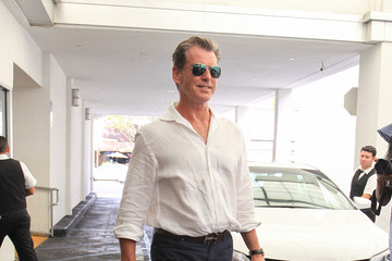 Pierce Brosnan Pierce Brosnan Goes out in Beverly Hills