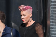 Pink Brings Her Family to 'Jimmy Kimmel Live'