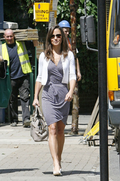 Pippa Middleton - Pippa Middleton on Kings Road
