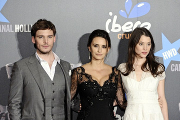 "Penelope Cruz Astrid Berges Frisbey ""Pirates"" Premieres in Spain"