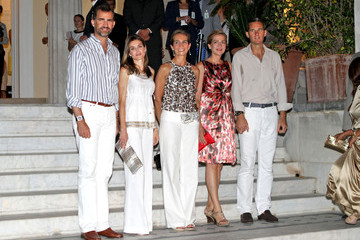 Infanta Cristina of Spain Pre-wedding party for Prince Nikolaos