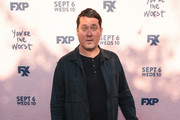 Doug benson is seen attending the Premiere Of FXX's 'You're The Worst' Season 4 at Museum of Ice Cream LA in Los Angeles, California.