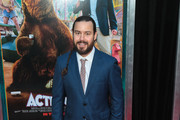 Chris Pontius is seen attending the premiere of Paramount Pictures' 'Action Point' at ArcLight Hollywood in Los Angeles, California.