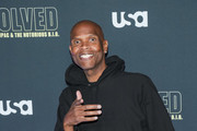 Big Boy is seen attending the premiere of USA Network's 'Unsolved: The Murders of Tupac and The Notorious B.I.G. at Avalon in Los Angeles, California.