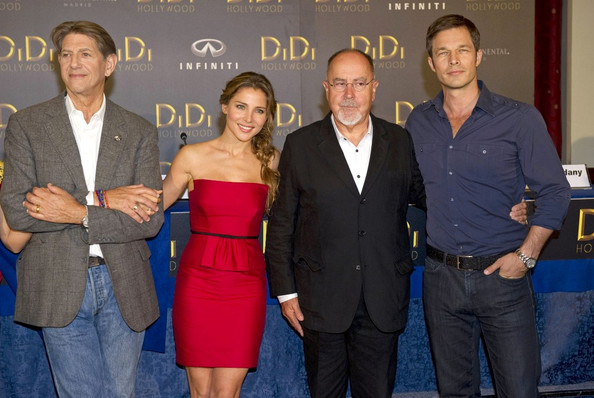 "Press conference for ""Di Di Hollywood"" at the Intercontinental Hotel."