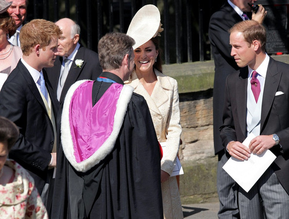 Prince William and Prince Harry Royal Wedding at the Canongate Kirk