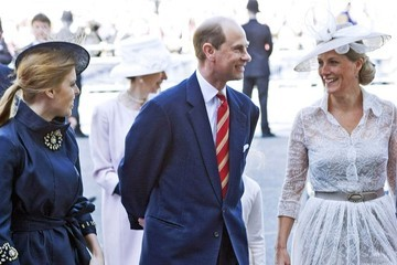 Prince Edward Royals celebrate the Queen's Coronation