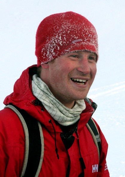 Prince Harry in the North Pole with injured soldiers