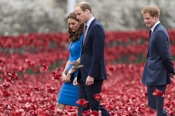 Prince Harry British Royals Visit the Tower of London