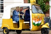 The Prince of Wales Launches a Rickshaw Race