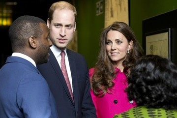 Prince William Kate and William Visit Stephen Lawrence Centre