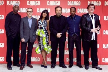 "Quentin Tarantino Samuel L. Jackson ""Django Unchained"" Photo Call in Rome"