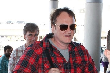 Quentin Tarantino Quentin Tarantino Arrives at LAX