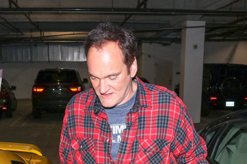 Quentin Tarantino Quentin Tarantino Outside The ArcLight Theatre In Hollywood