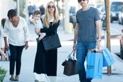 Rachel Zoe and Family Out and About