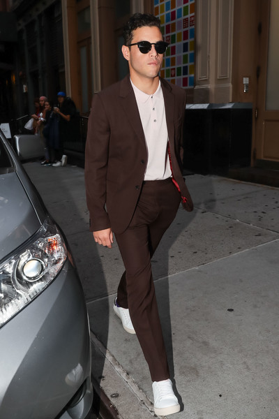 Rami Malek Out And About In New York