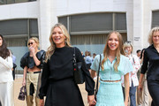 Kate Moss and daughter, Lila Grace Moss Hack are seen in New York City.