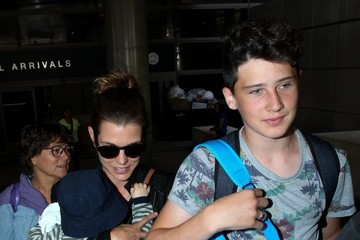 Raphael Casiraghi Charlotte Casiraghi and Raphael Casiraghi at LAX