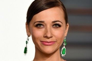 Rashida Jones Stars at the Vanity Fair Oscar Party
