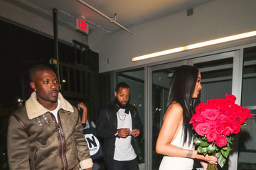 Ray J Ray J And Princess Love Outside BLVD 3 Nightclub In Hollywood