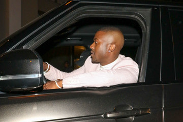 Ray J Ray J Outside Craig's Restaurant In West Hollywood