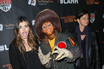 Rebecca Black Celebrities Attend the LA Haunted Hayride's 7th Annual VIP Black Carpet Event