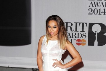 Rebecca Ferguson Stars Dress Up for the BRIT Awards