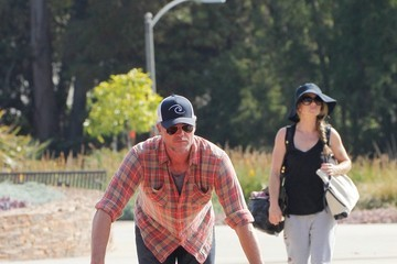 Rebecca Gayheart Eric Dane and Rebecca Gayheart Go for a Bike Ride