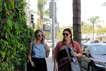 Rebecca Gayheart Rebecca Gayheart and Her Pal go out for Lunch