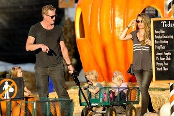 Rebecca Gayheart Rebecca Gayheart and Family Pick Out Pumpkins — Part 2