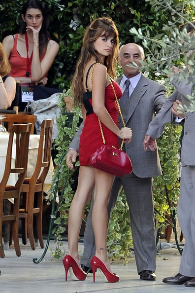 "Penelope Cruz is red hot on the set of Woody Allen's latest, ""Bop Decameron."" ."